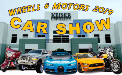 Keiser University's Inaugural Wheels & Motors Car Show at Keiser University