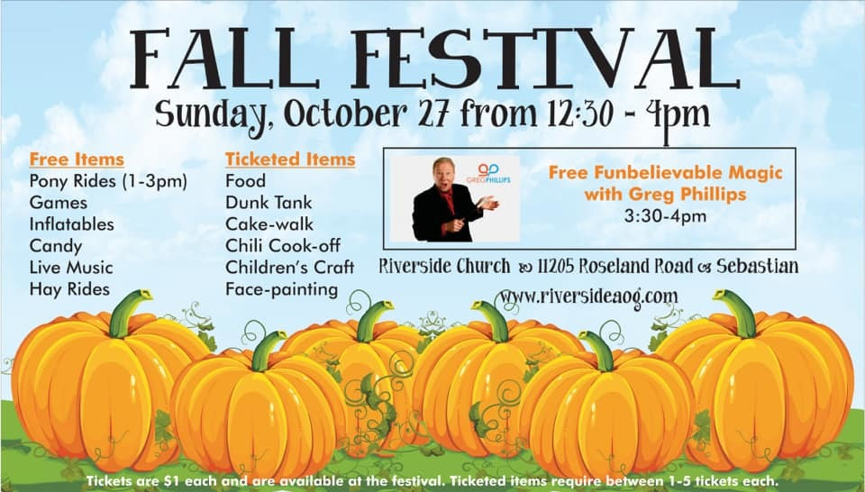 Fall Festival at Riverside Church