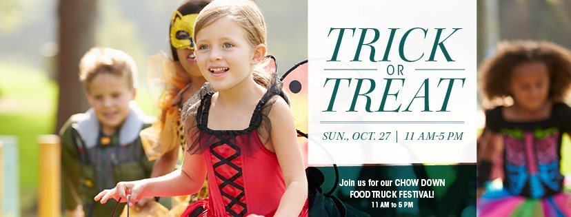 Trick-or-Treat during the Chow Down Food Truck Festival at Vero Beach Outlets