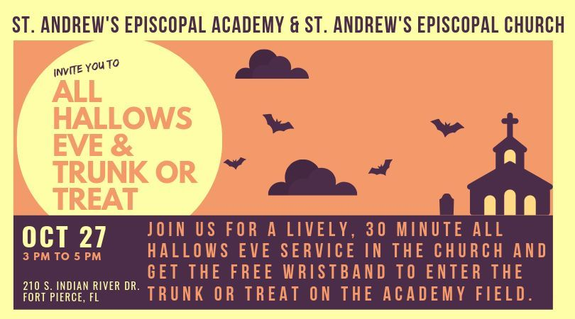 All Hallows Eve & Trunk or Treat at St Andrew's Episcopal Academy