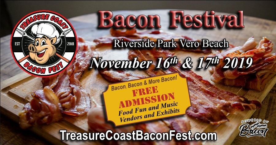 Treasure Coast Bacon Fest at Riverside Park