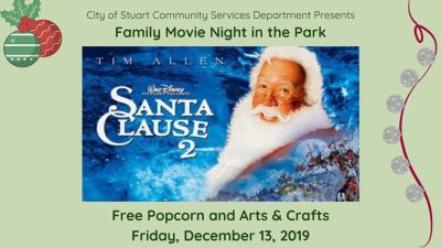Family Movie Night in the Park at the 10th Street Community Center at Guy Davis Sports Complex
