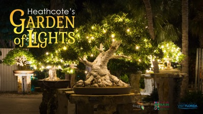 Heathcote's Garden of Lights at Heathcote Botanical Gardens