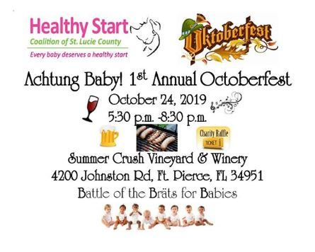 Healthy Start Coalition of St Lucie County's Octoberfest