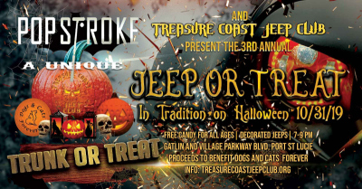2nd Annual Jeep or Treat
