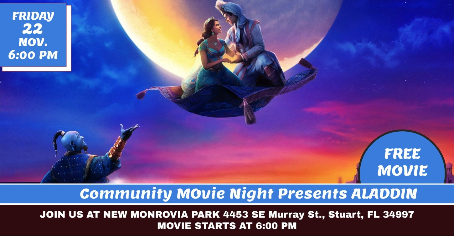 Community Movie Night at New Monrovia Park