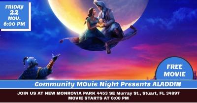 Community Movie Night at New Monrovia Park