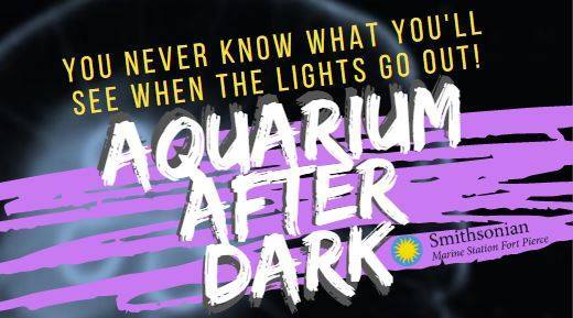 Aquarium After Dark at the Smithsonian Marine Station and Ecosystems Exhibit