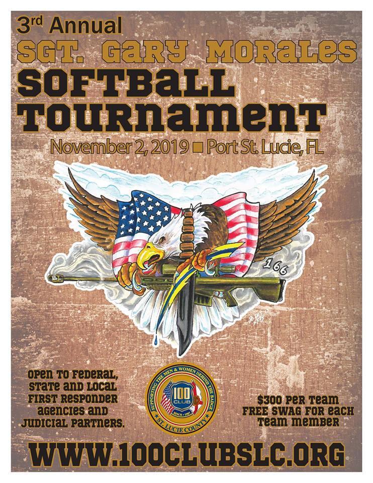 3rd Annual Sgt. Gary Morales Softball Tournament at Sandhill Crane