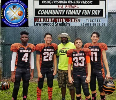 Treasure Coast GB2K Rising Freshman All Star Game at Lawnwood Stadium in Fort Pierce