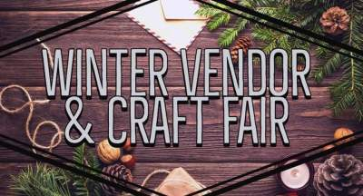 Winter Vendor & Craft Fair at Stuart Memorial Park