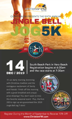 Jingle Bell Jog 5K at South Beach Park