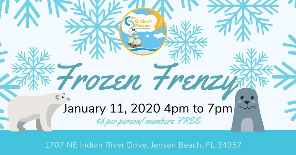 Frozen Frenzy at The Children's Museum of the Treasure Coast