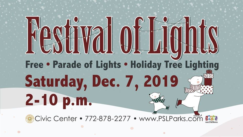 Festival of Lights at the Port St Lucie Civic Center