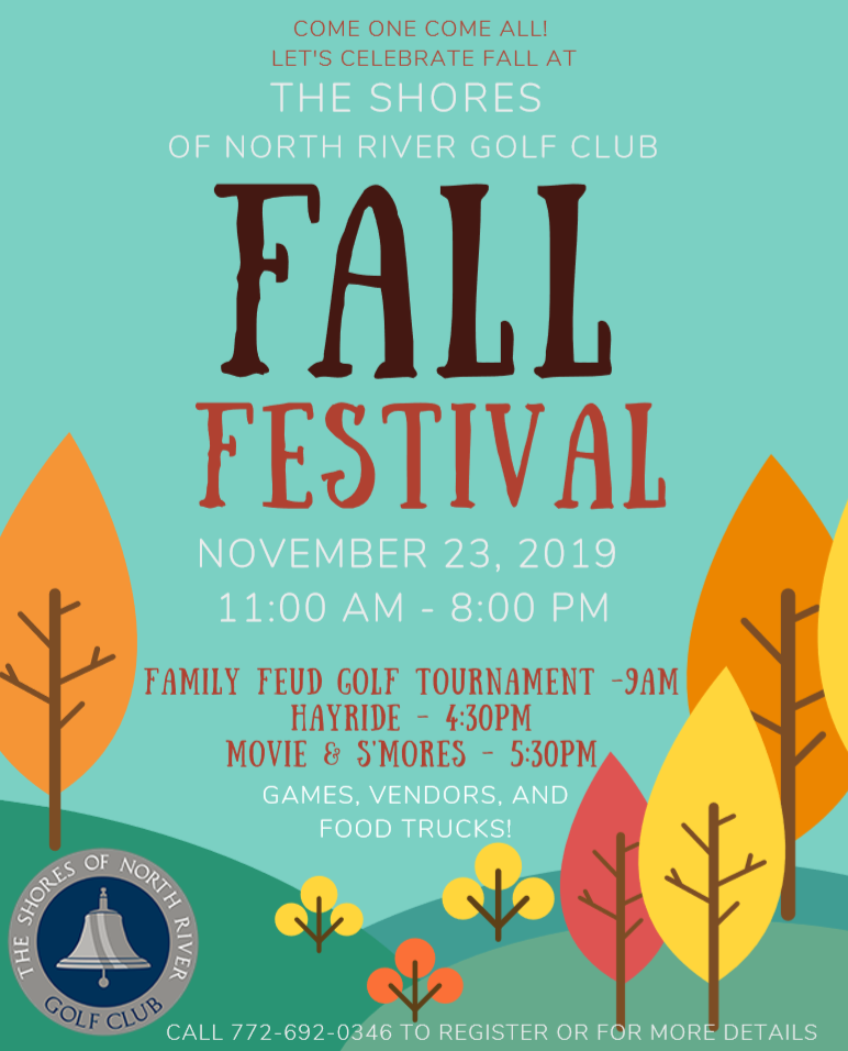 Fall Festival at The Shores of North River Golf Club