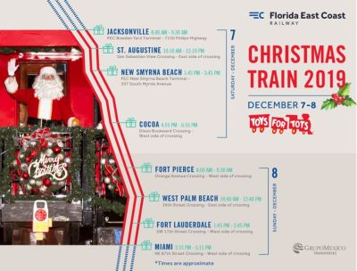 Florida East Coast Railway Christmas Train