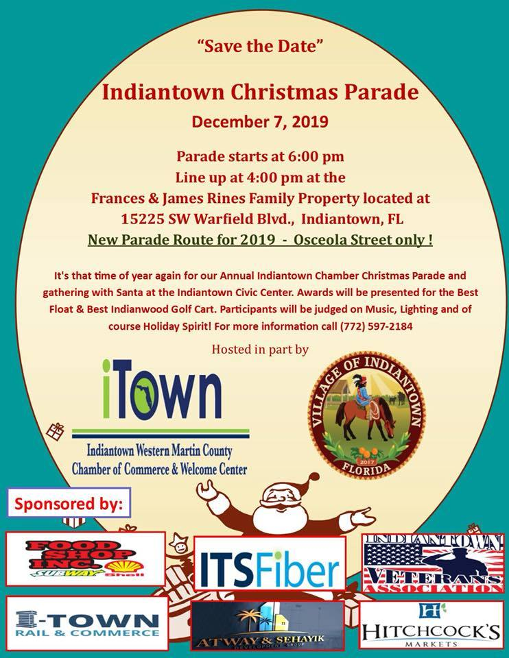 Indiantown Chamber Christmas Parade