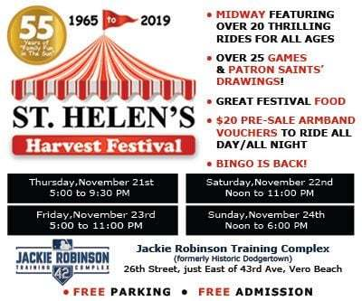 St Helen's Harvest Festival at Historic Dodgertown