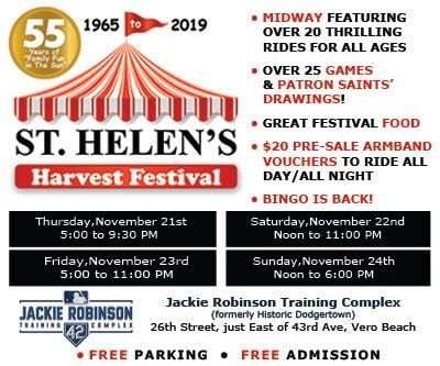 St Helen's Harvest Festival at Historic Dodgertown