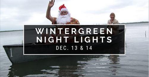WinterGREEN Night Lights at Environmental Learning Center