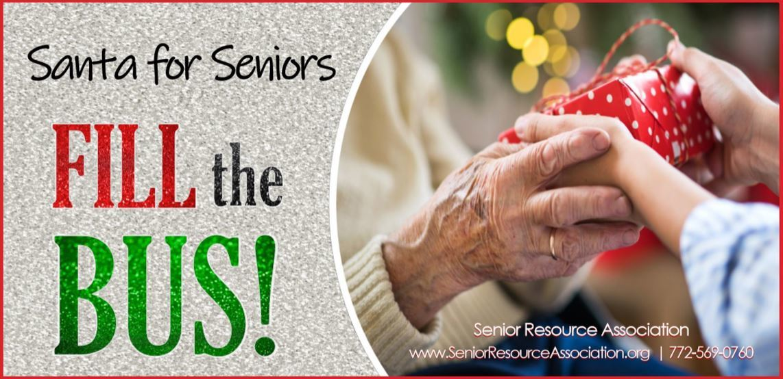 "Santa for Seniors ""Fill the Bus!"""
