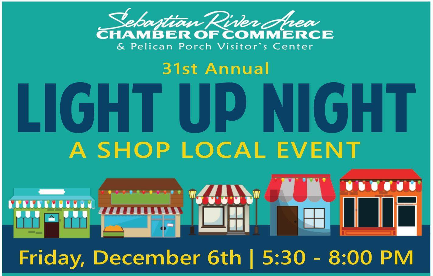 Sebastian River Area Chamber of Commerce's Annual Light Up Night