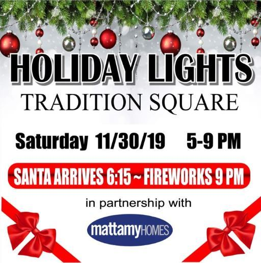 Holiday Lights at Tradition Square
