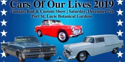 TCVCC Cars Of Our Lives Show at the Port St Lucie Botanical Gardens