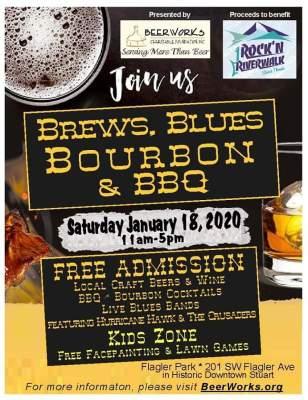 Beerworks Charitable Foundation presents Brews, Blues, Bourbon & BBQ