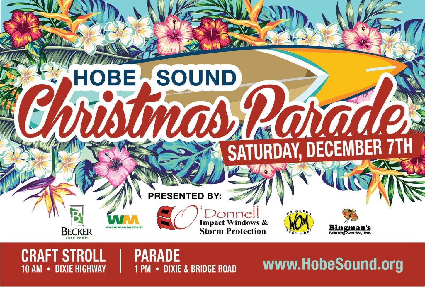 34th Annual Hobe Sound Christmas Parade