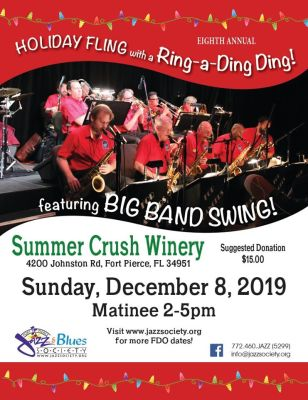 Holiday Fling with FDO at Summer Crush Vineyard & Winery