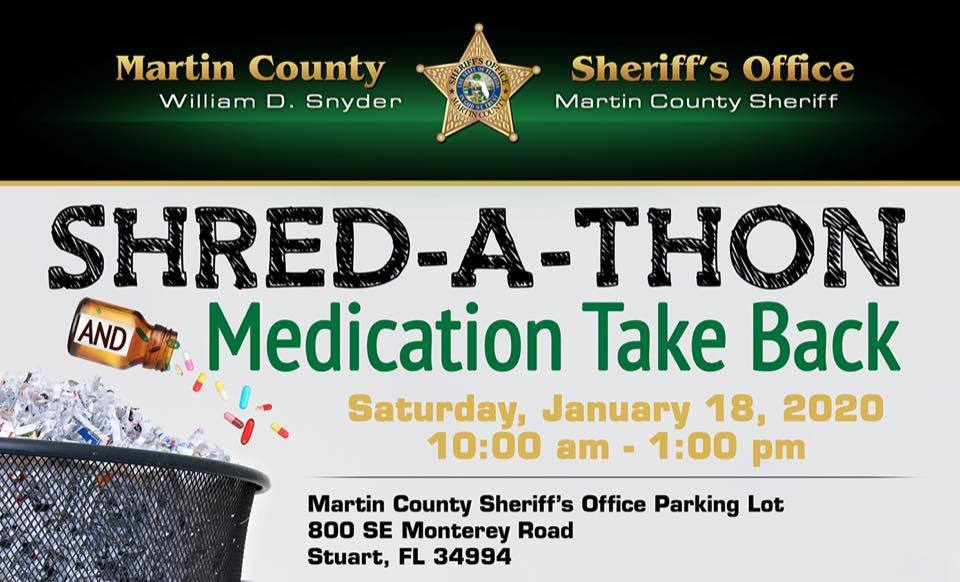FREE Shred Event and Medication Take Back