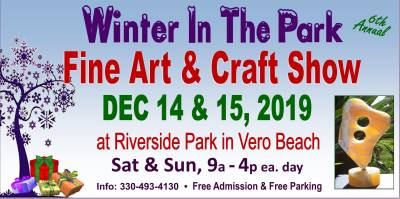 Winter In The Park Fine Art & Craft Show at Riverside Park