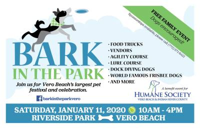 Bark In The Park at Riverside Park in Vero Beach