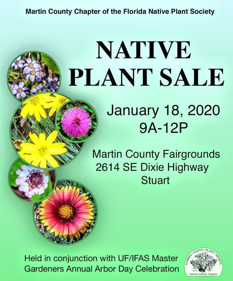 Native Plant Sale at the Martin County Fairgrounds