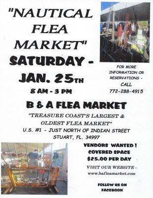 Nautical Flea Market at the B&A Flea Market
