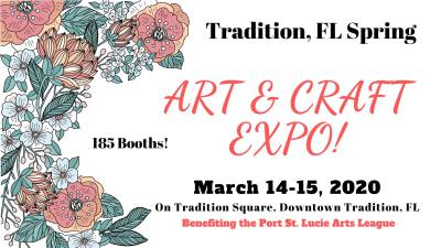 Spring Arts & Crafts Expo at Tradition Square