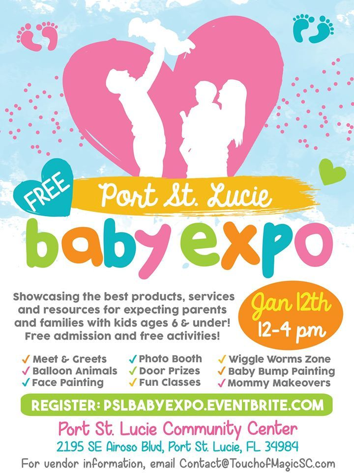 Port St Lucie Baby Expo at the Port St Lucie Community Center