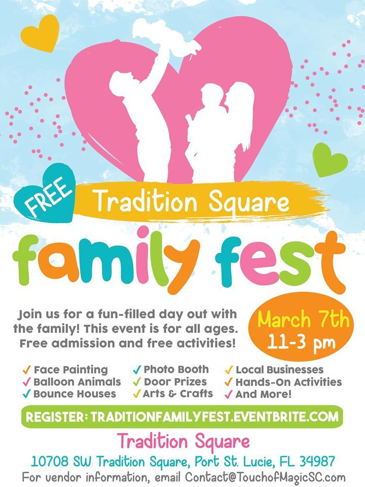Free Family Fest at Tradition Square