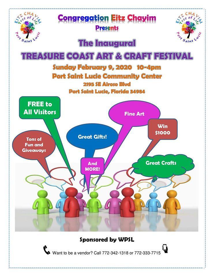 Treasure Coast Art & Craft Festival at the Port St Lucie Community Center