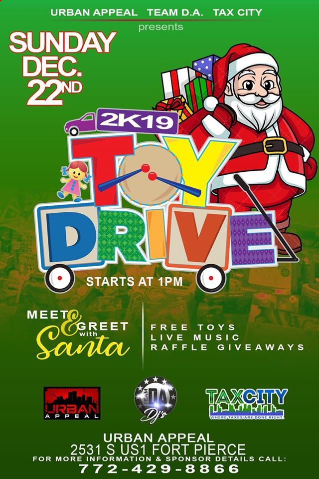 The 772 Toy Giveaway at Urban Appeal