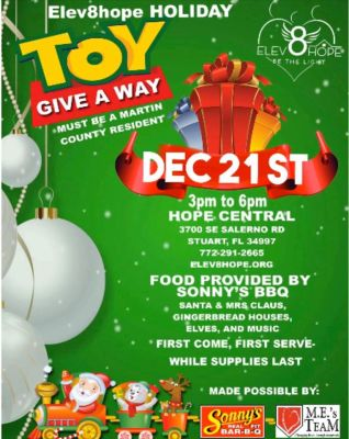 Elev8Hope Holiday Toy Giveaway at Hope Central
