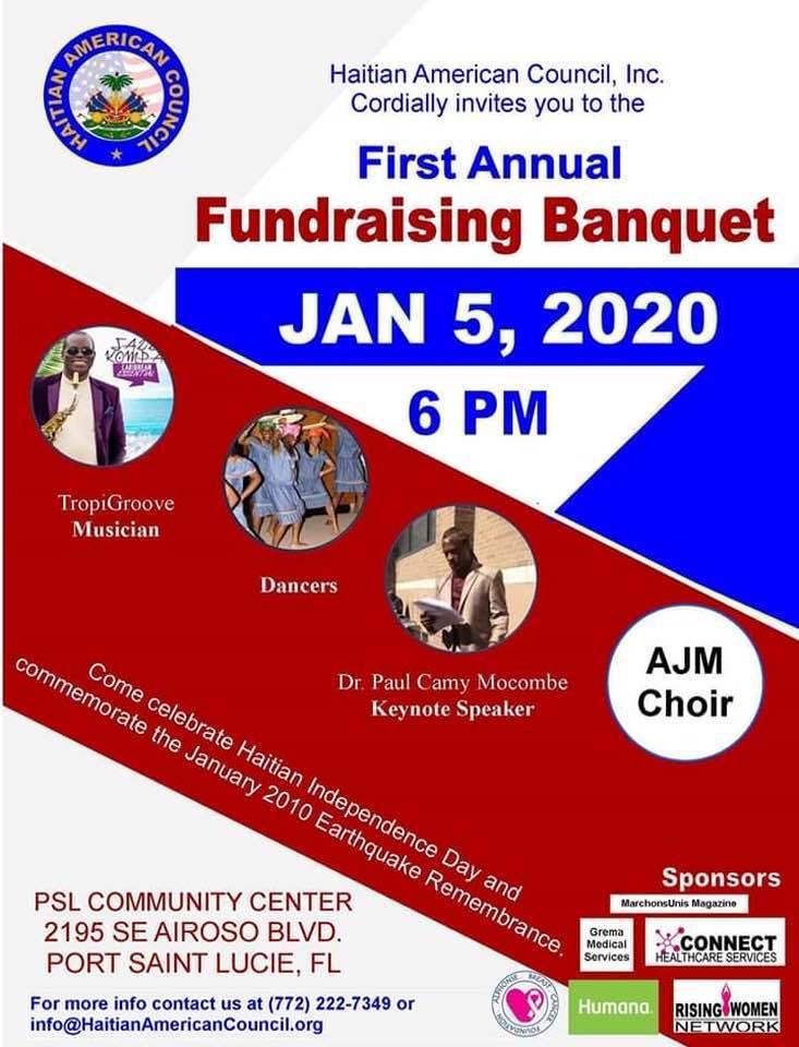 Haitian American Council, Inc. presents the First Annual Fundraising Banquet