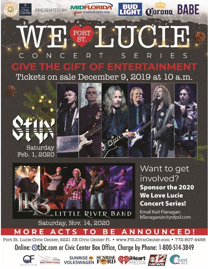 We Love Lucie Concert Series