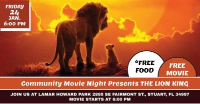 Community Movie Night at Lamar Howard Park