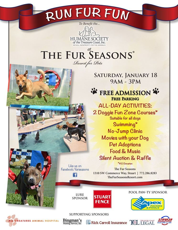 Apex Pool Pavers presents Run Fur Run at the Fur Seasons