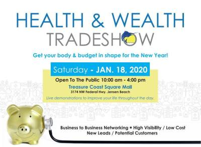 Health & Wealth Trade Show at Treasure Coast Square Mall