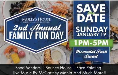 Molly's House Family Fun Day at Stuart Memorial Park