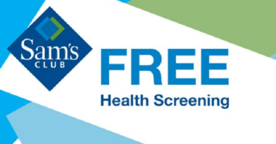 Free Health Screening at Sam's Club