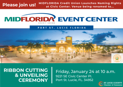 MIDFLORIDA Credit Union Naming Rights Ribbon Cutting and Unveiling Ceremony